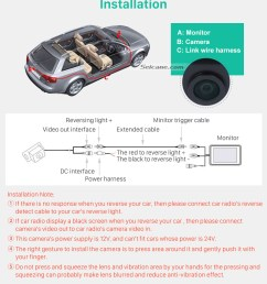 installation 170 hd waterproof blue ruler night vision car rear view camera for hyundai i30l [ 980 x 1161 Pixel ]