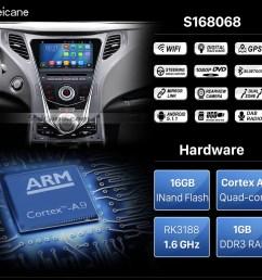 seicane 8 inch 2011 2014 hyundai grandeur hg aftermarket android 5 1 radio gps navigation system  [ 980 x 914 Pixel ]