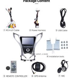 seicane 8 inch 2011 2014 hyundai grandeur hg aftermarket android 5 1 radio gps navigation system  [ 980 x 1138 Pixel ]