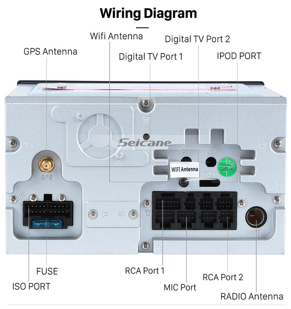 medium resolution of  seicane android 8 0 sistema de navegaci n gps por radio para 2007 2010 nissan qashqai con