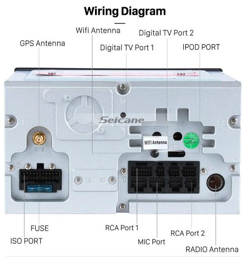 small resolution of  seicane android 8 0 sistema de navegaci n gps por radio para 2007 2010 nissan qashqai con