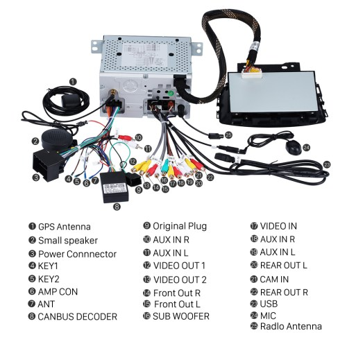 small resolution of  seicane oem android 8 0 radio dvd player gps navigation system for 2010 2013 opel astra