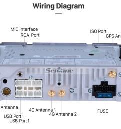 seicane android 8 1 hd touchscrenn car radio head unit for 2001 2007 chrysler 300m pt  [ 980 x 818 Pixel ]