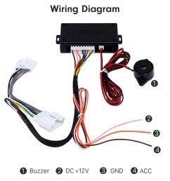 car rearview mirror automatic folding drive controller adapter wirewiring diagram car rearview mirror automatic folding drive [ 980 x 812 Pixel ]