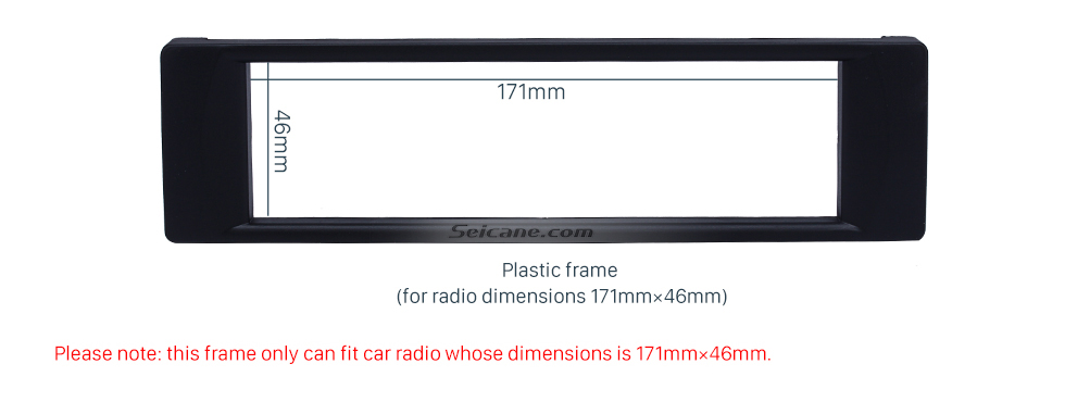 Well-crafted 1Din 2003 Audi A6 Car Radio Fascia Autostereo