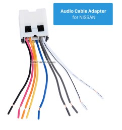 audio cable adapter for nissan audio cable wiring harness adapter for nissan bluebird paladin  [ 980 x 1116 Pixel ]