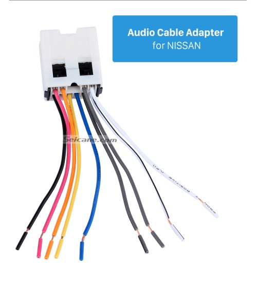 small resolution of  audio cable adapter for nissan audio cable wiring harness adapter for nissan bluebird paladin