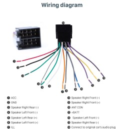 wiring diagram car wiring harness plug adapter audio sound cable for volkswagen polo passat  [ 980 x 1108 Pixel ]