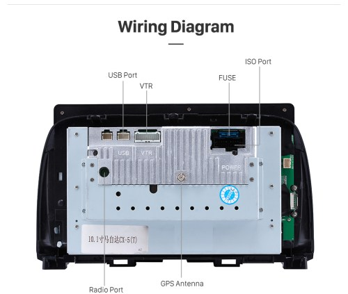 small resolution of  wiring diagram 10 1 inch hd touch screen android 6 0 car radio for 2012 2015 mazda