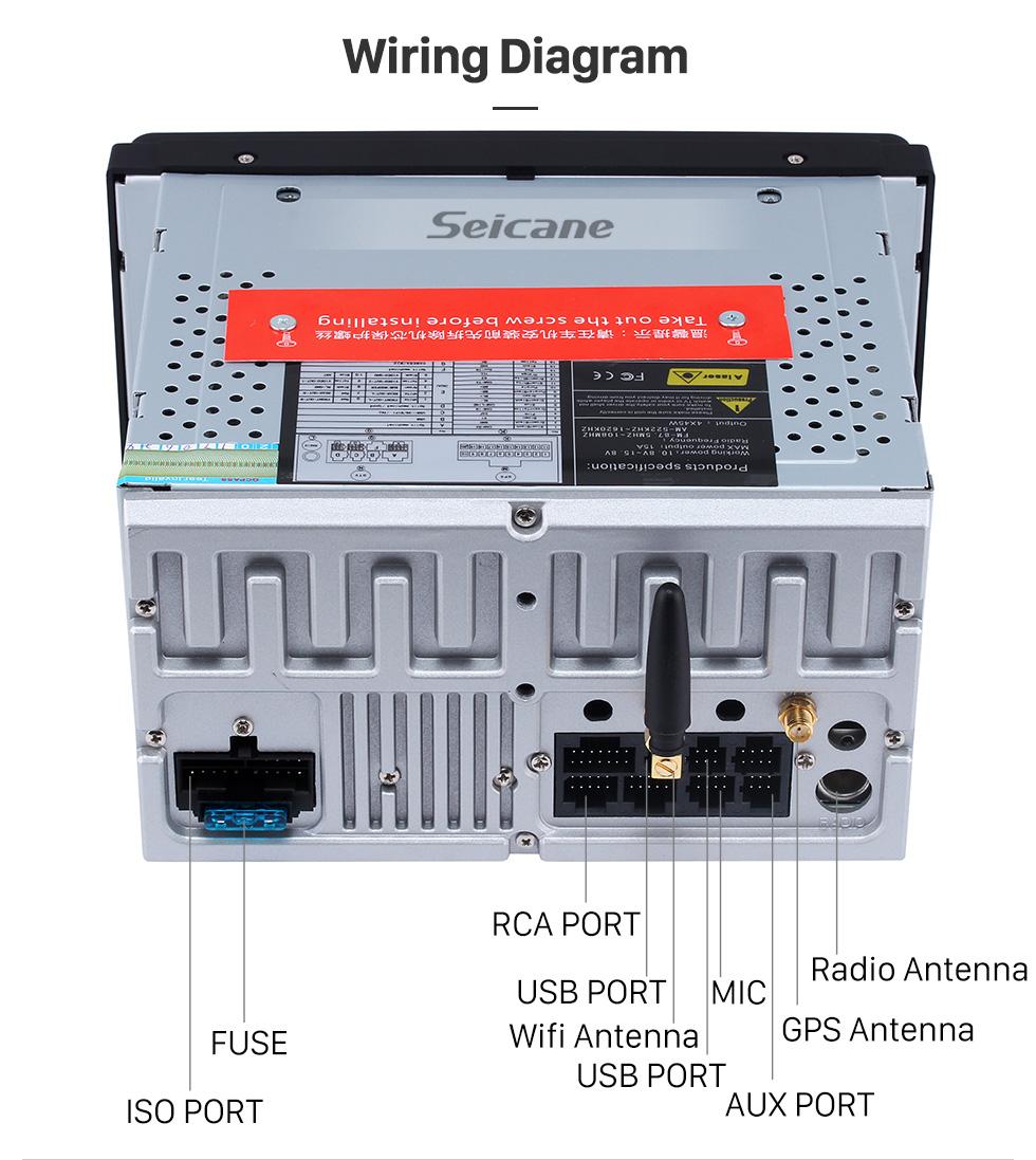 medium resolution of  seicane capacitive multi touch android 8 0 autoradio navigation for 1996 2011 toyota rav4 camry