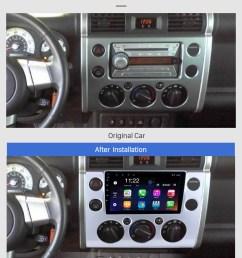 seicane 9 inch full touchscreen 2007 2018 toyota fj cruiser android 8 1 radio gps navigation  [ 980 x 1238 Pixel ]