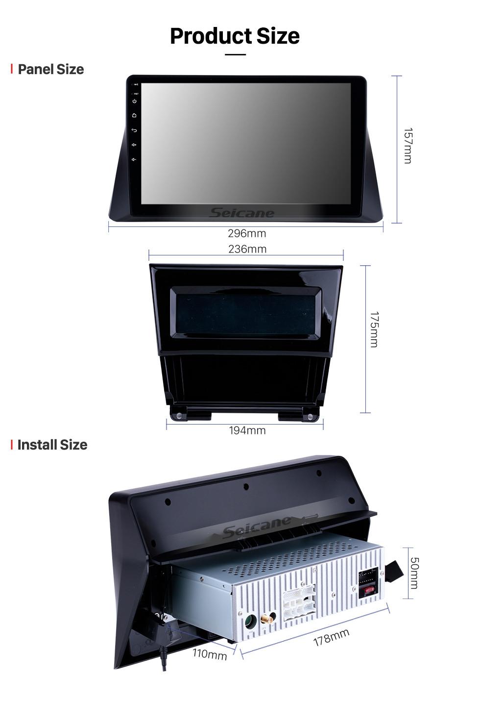 medium resolution of  seicane 10 1 inch 2008 2009 2010 2011 2012 honda accord 8 android 8 1 radio gps navigation