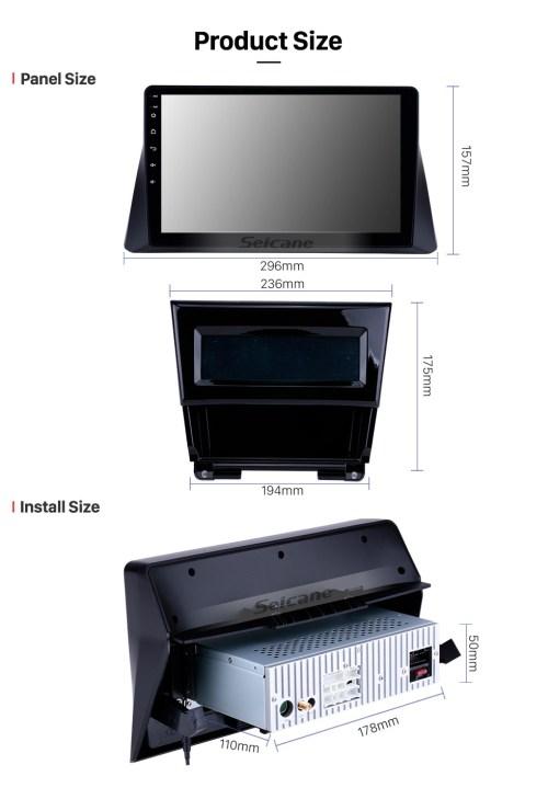 small resolution of  seicane 10 1 inch 2008 2009 2010 2011 2012 honda accord 8 android 8 1 radio gps navigation