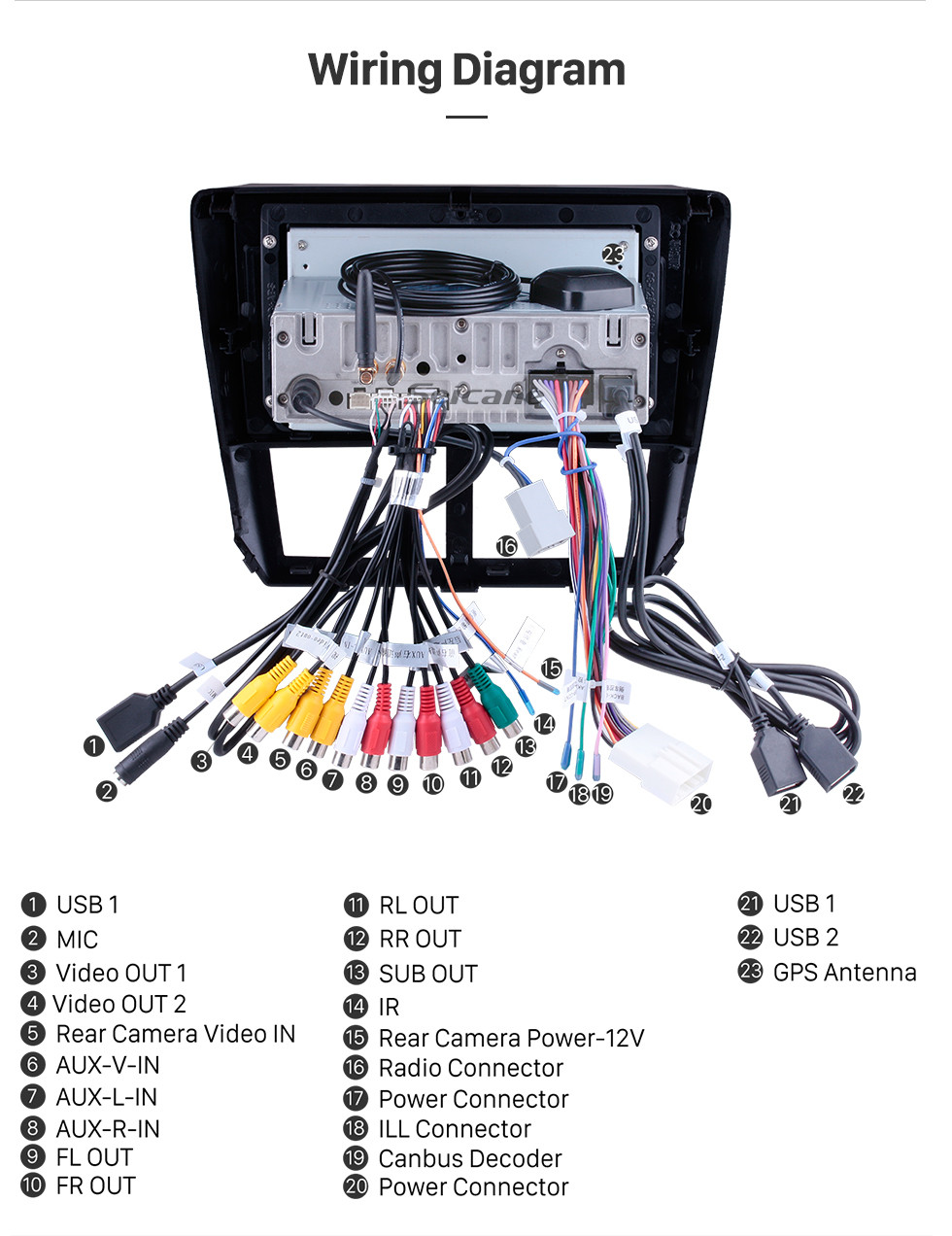 hight resolution of  seicane 9 inch android 9 0 2008 2009 2010 2011 2012 subaru forester hd touchscreen head unit