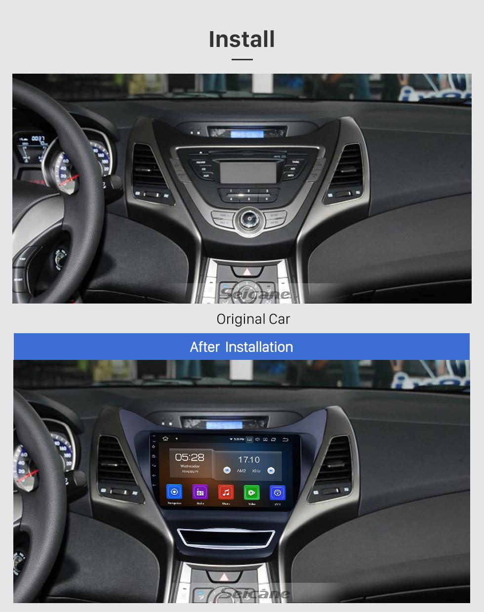 hight resolution of  oem 9 inch 2012 2013 hyundai elantra android 9 0 radio gps hyundai elantra hyundai wiring diagrams 2001