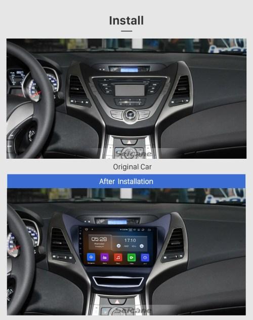 small resolution of  oem 9 inch 2012 2013 hyundai elantra android 9 0 radio gps hyundai elantra hyundai wiring diagrams 2001