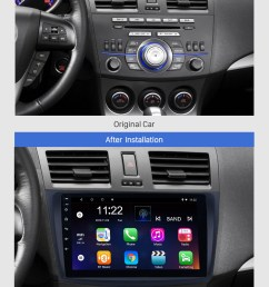 seicane 9 inch touch screen android 8 1 car radio for 2009 2010 2011 2012 mazda 3  [ 980 x 1408 Pixel ]
