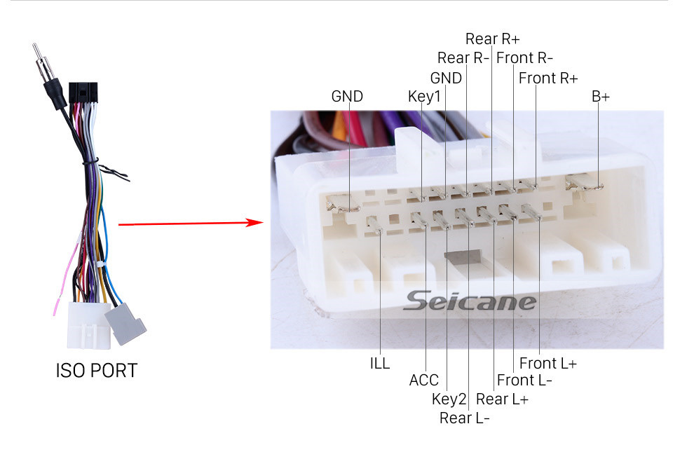 medium resolution of  seicane 10 1 inch android 8 1 radio for 2008 2012 nissan x trail xtrail x