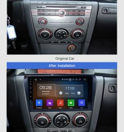 seicane all in one android 9 0 2004 2009 mazda 3 radio upgrade with  [ 980 x 1404 Pixel ]