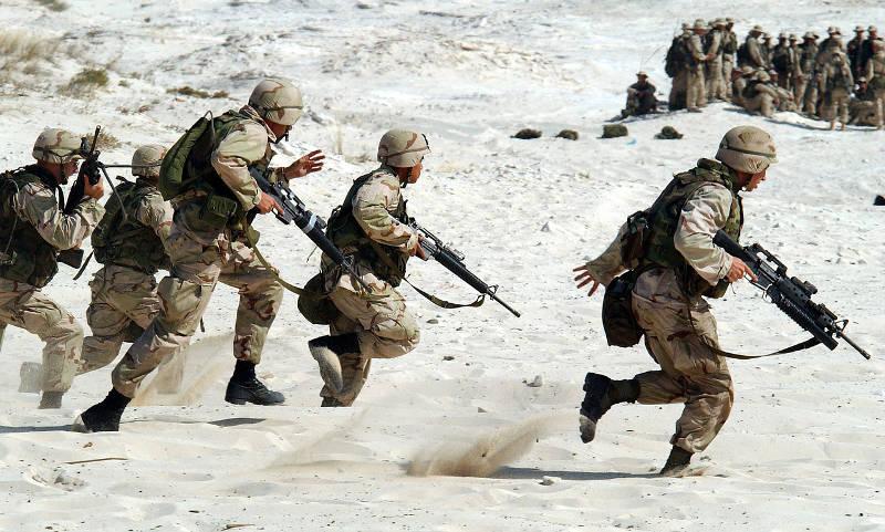 Kriege im Nahen Osten seit 2001 geplant