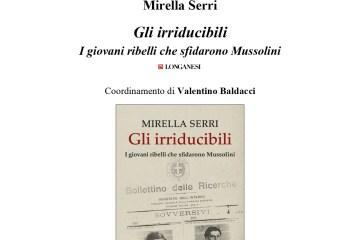 Locandina Mirella Serri, 22.11.2019 Firenze