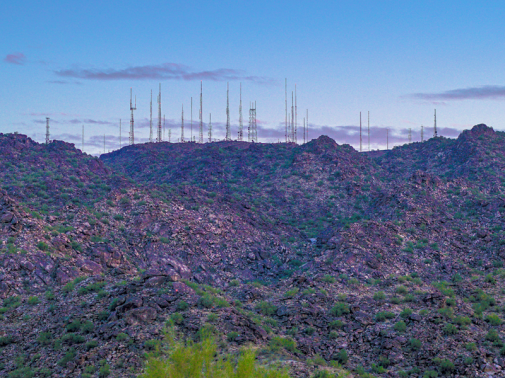 Signal on South Mountain