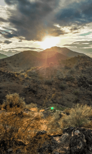 Sunset At South Mountain