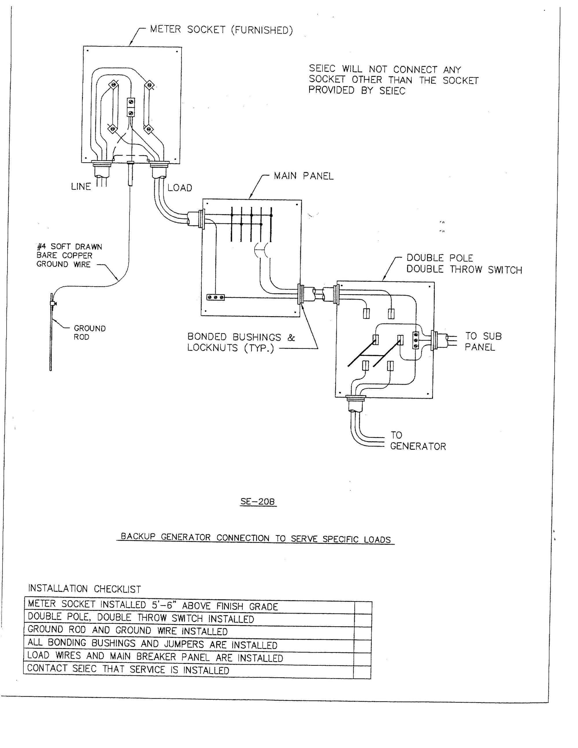 hight resolution of double throw breaker wiring diagram