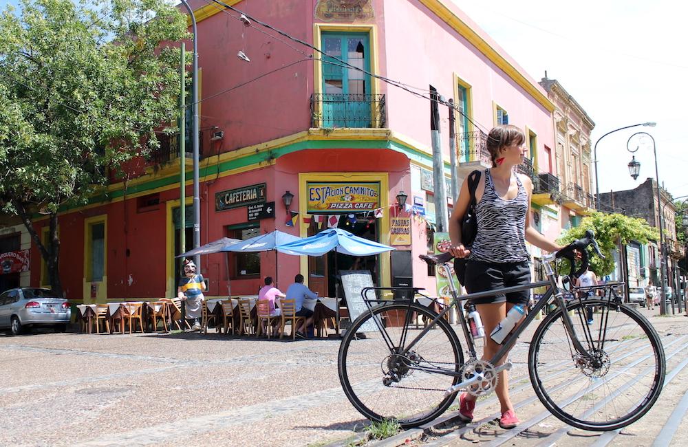Pyöräilijän Buenos Aires