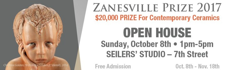 Seilers' Studio and Gallery is host for the The Zanesville Prize for Contemporary Ceramics. Here is a look at the billboards.