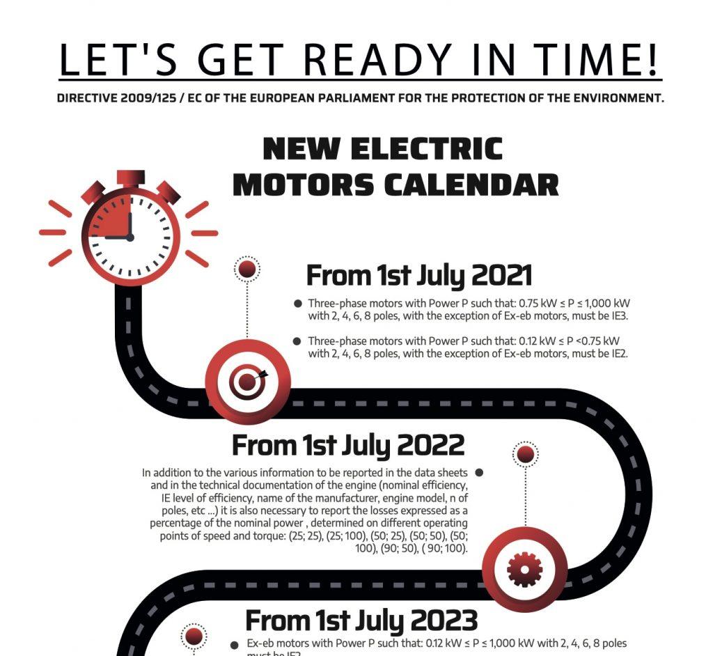 New Electric Motors Calendar