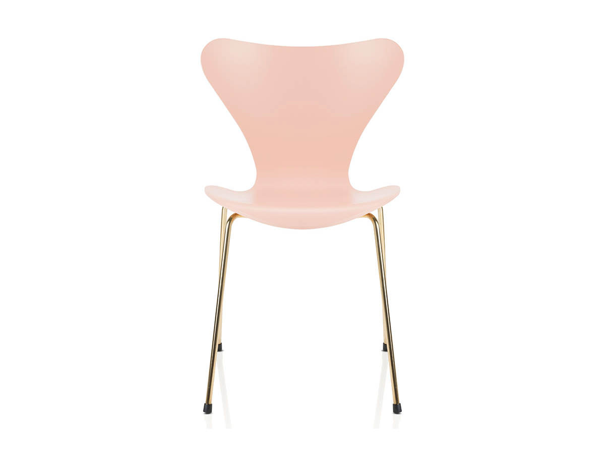 pale pink chair canopy lawn chairs walmart fritz hansen serie 7™ stuhl sonderedition für 611