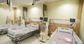 3 diferentes opciones de paneles de terapia intensiva