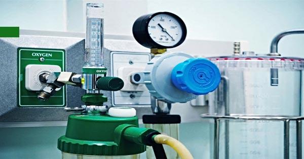 5 tipos de gases médicos y sus respectivos equipos