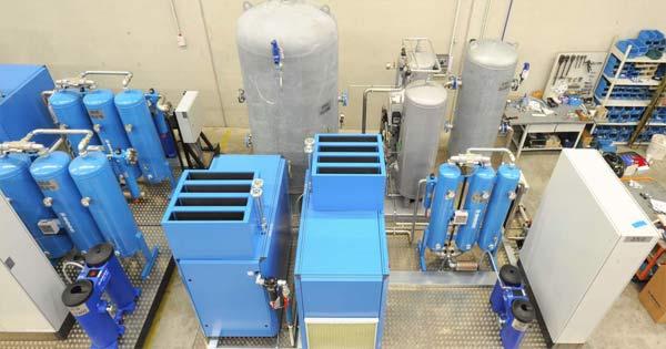 Aire Más Limpio Con Los Compresores De Aire Grado Médico