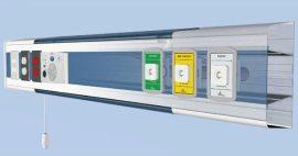 Características de la consola horizontal para encamados SEI-3V