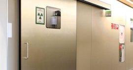 Características Puerta Corrediza Automática Especial con Protección para Rayos X