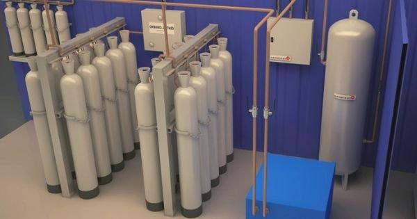 Centrales de abastecimiento para gases médicos
