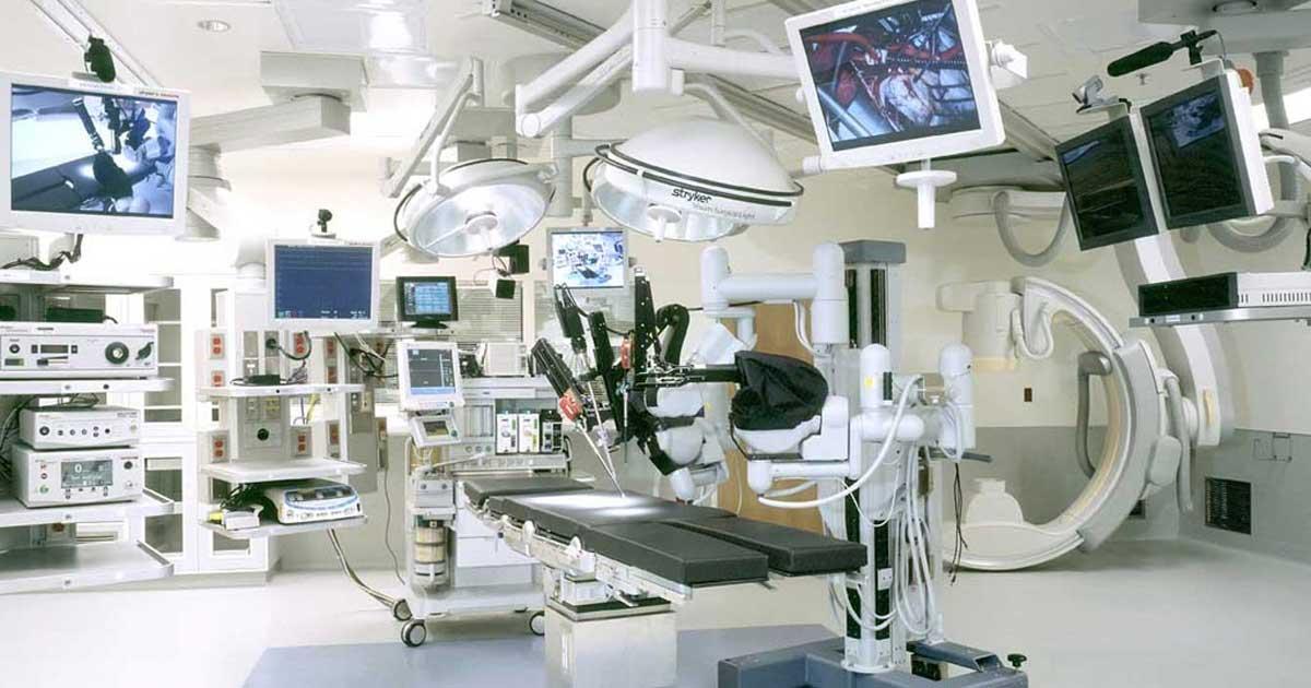 Clasificación y función de equipos médicos para hospitales