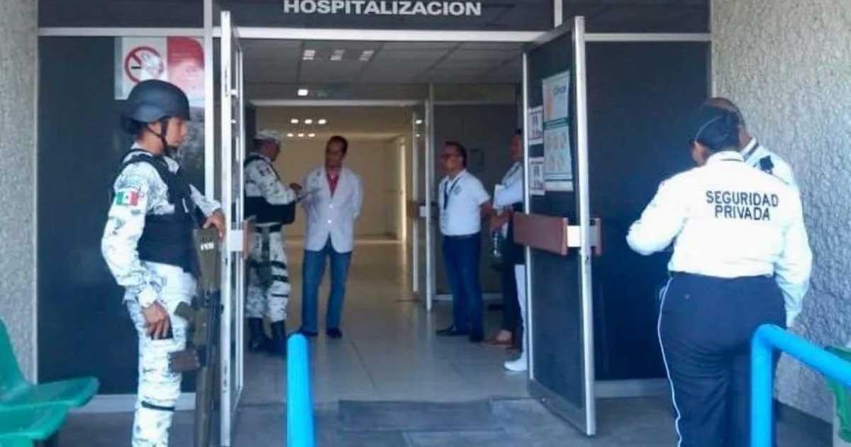 Como mejorar la seguridad y control de armas en hospitales