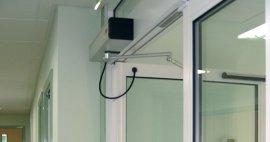 Conoce Puerta Hermética Abatible Automática con Protección contra Incendios