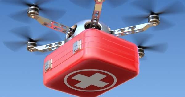 Drones Para Entregar Suministros y Equipamiento Para Hospitales