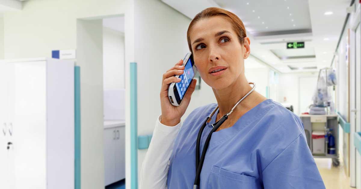 La importancia vital de los sistemas de comunicación enfermo-enfermera