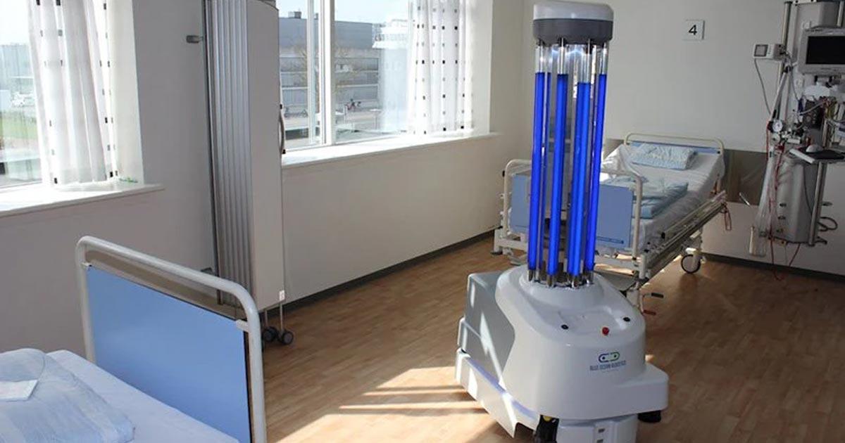 Nuevas tecnologías aplicadas a la desinfección de hospitales
