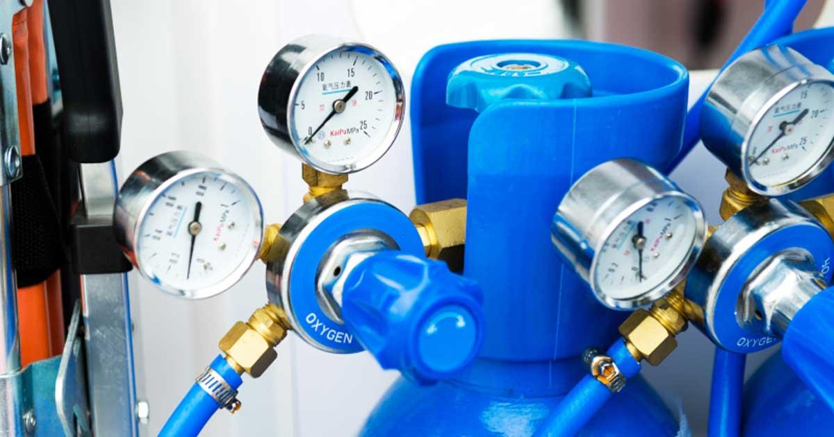 Qué medidas tomar para el suministro de gases medicinales