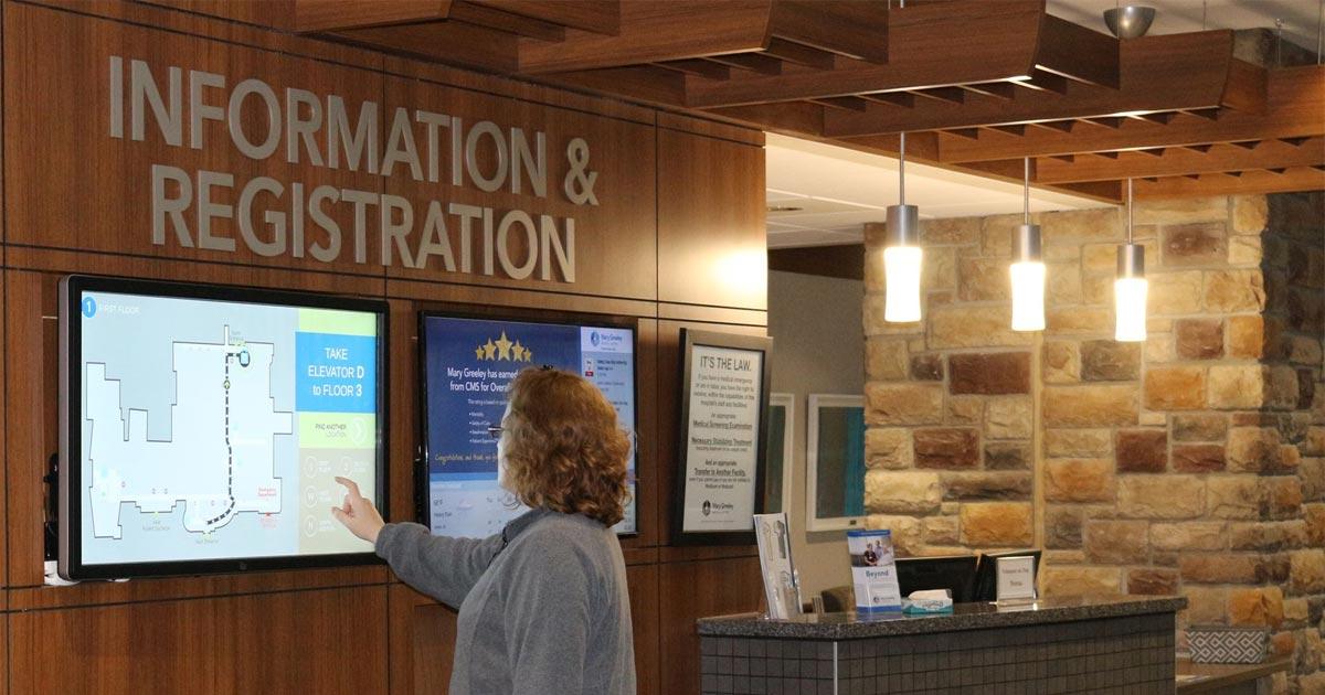Señalización digital un avance en la comunicación hospitalaria