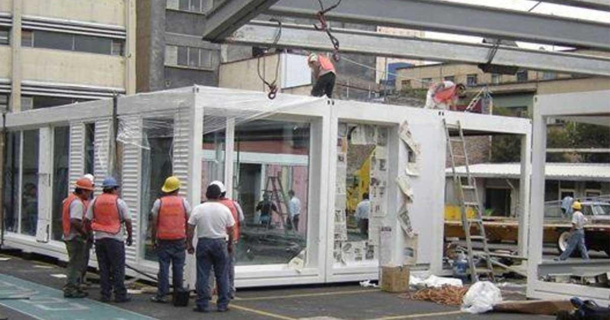 Sistemas prefabricados y la construcción modular de hospitales
