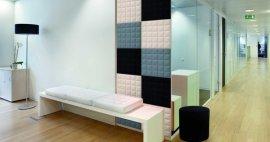 Soluciones acústicas para hospitales