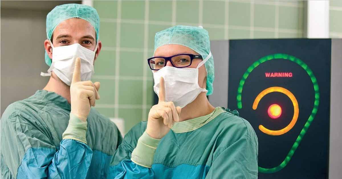 Técnicas para reducir la contaminación sónica en hospitales
