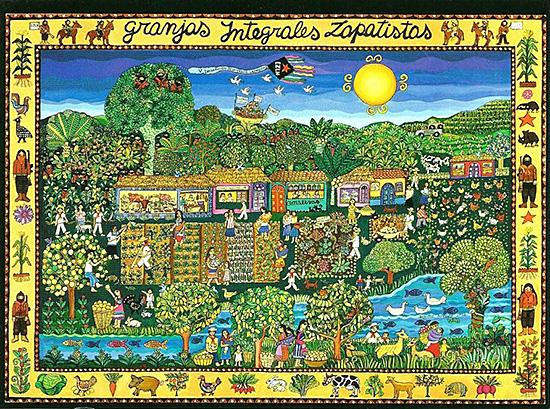 Granjas integrals zapatistas, Beatriz Aurora, 1997.